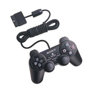 Sony OEM Dualshock Controller Black For PlayStation 2 PS2 - ZZ665705