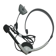 Official Microsoft Wired Headset For Xbox 360 White Model# NXX360-116 - ZZ665752