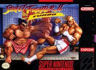 Street Fighter II Turbo For Super Nintendo SNES - EE665979