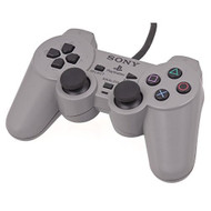 Sony OEM PS1 PlayStation Dualshock Controller Gray - ZZ666227