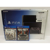 Sony PlayStation 4 Console 500 GB With Games Bundle - ZZ666549