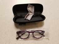 Eyekepper Vintage Ladies +1.00 Reading Glasses Purple Eyeglasses JEB67 - DD666702