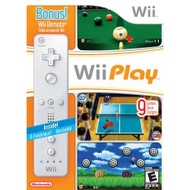 Wii Play And Nintendo OEM Wii Remote Controller Wii U - ZZ666976
