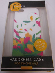 iConcepts Hardshell Case For iPhone 5 5S SE UFT-C5-5S Cover White - EE667045