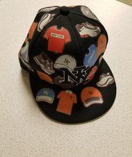 Top Pro Flat Cap Size M 7 - 7 1/8 New York Style Hat Multi-Color - DD667235