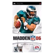 Madden NFL 06 For PSP UMD Football With Manual and Case - EE667735