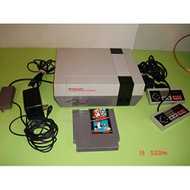 NES System: Video Game Console Bundle Zapper Gun And Game Model NES-00 - ZZ667836