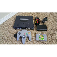 Nintendo 64 N64 Console Bundle With Super Mario 64 - ZZ667980