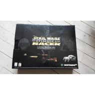 Nintendo 64 System Video Game Console Star Wars Episode I Racer Bundle - ZZ667983