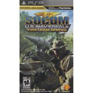 Socom: Fireteam Bravo Sony For PSP UMD With  Case - EE669208
