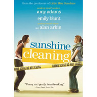 Sunshine Cleaning On DVD With Amy Adams Drama - EE670451