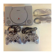 PlayStation 1 PS1 With Two Dual Shock Analog Controllers - ZZ670533