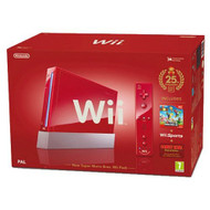 Nintendo Mario Wii Hardware Bundle Red - ZZ670652