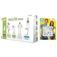 Wii Fit Plus With Balance Board And Biggest Loser Game Bundle For Wii - ZZ670797