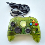 Clear Green Wired Controller For Xbox S-Type - ZZ670805