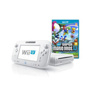 Wii U 8GB Basic Set Console New Super Mario Bros U White Nintendo Wii - ZZ670809