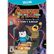 Adventure Time: Explore The Dungeon Because I Don't Know! Wii U For - EE671367