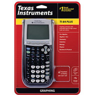 Texas Instruments TI-84 Plus Graphing Calculator Black - ZZ671626