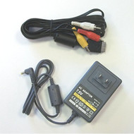 Slim PS1 PlayStation 1 Psone Hookup Connection Kit Power AV 2PCS - ZZ670252