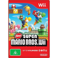 New Super Mario Brothers For Wii And Wii U - ZZ671762