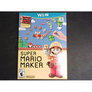 Super Mario Maker For Wii U With Manual And Case - ZZ672010
