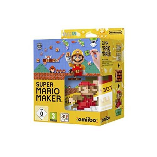 Nintendo Super Mario Maker Game And Mario Amiibo For Wii U - ZZ672106