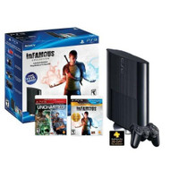 PlayStation 3 Bundle W/ 250GB Console Extra Controller Uncharted - ZZ672142