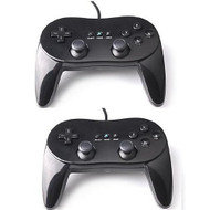 Lot Of 2 X Classic Controller Pro For Nintendo Wii Black - ZZ672252