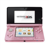 Nintendo 3DS Pearl Pink System Handheld - ZZ672261