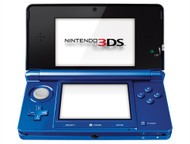 Nintendo 3DS Cobalt Blue With Luigi's Mansion: Dark Moon - ZZ672268