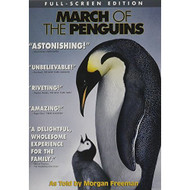 March Of The Penguins Full Screen Edition On DVD With Morgan Freeman - EE672346