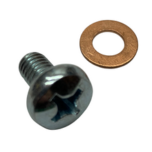 Transmission Oil Inspection Bolt w/ Gasket for Tomos A3 A35 A55 Mopeds