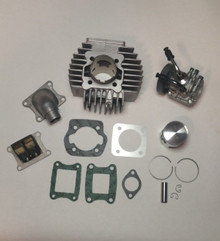 Puch Athena AJH 45mm 70cc Complete Reed Cylinder Kit