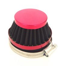 Red 60mm Air Filter for Dellorto SHA Carburetors