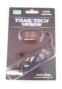 Trail Tech 14mm CHT Temperature Gauge 742-ET3 - Black