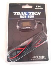 Trail Tech Tach / Hour Gauge 742-A00 - Black
