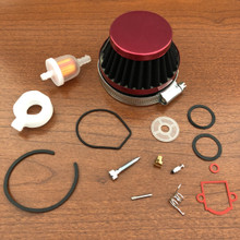 Dellorto SHA Rebuild Kit w/ Fuel & Air Filter