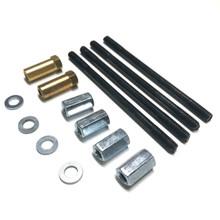 Puch E50 ZA50 Cylinder Studs w/ Nuts & Bolts M6 x 105mm