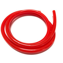 "1 Meter Red Fuel Line 3/16"" (5mm)"