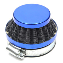 Blue 60mm Air Filter for Dellorto SHA Carburetors Short Cone