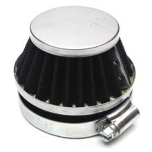 Chrome 60mm Air Filter for Dellorto SHA Carburetors Short Cone