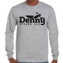 Denny Cycles Sport Grey Long Sleeve Shirt (Large)