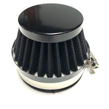 Black 60mm Cone Air Filter for Dellorto SHA Carburetors