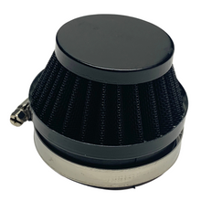 Black 60mm Cone Air Filter for Dellorto SHA Carburetors