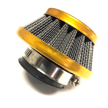Yellow / Gold 35mm Cone Air Filter for Dellorto PHVA Carburetors