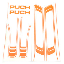 Orange Decal Set for Puch Maxi Moped