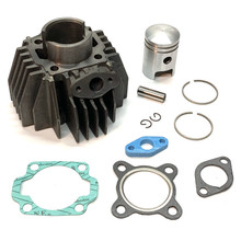 Cast Iron 38mm Cylinder Kit for Tomos A3 Engines 10 Pin