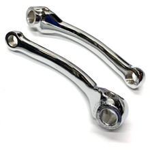 Chrome Pedal Arm Set for Puch Maxi Mopeds