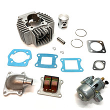 Puch Athena AJH 45mm 70cc Complete Reed Cylinder Kit - Bing Version
