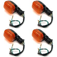 Universal Tomos Style Turn Signal - Carbon Fiber - Set of 4